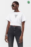Cheap Monday Crop Top Mirror Logo