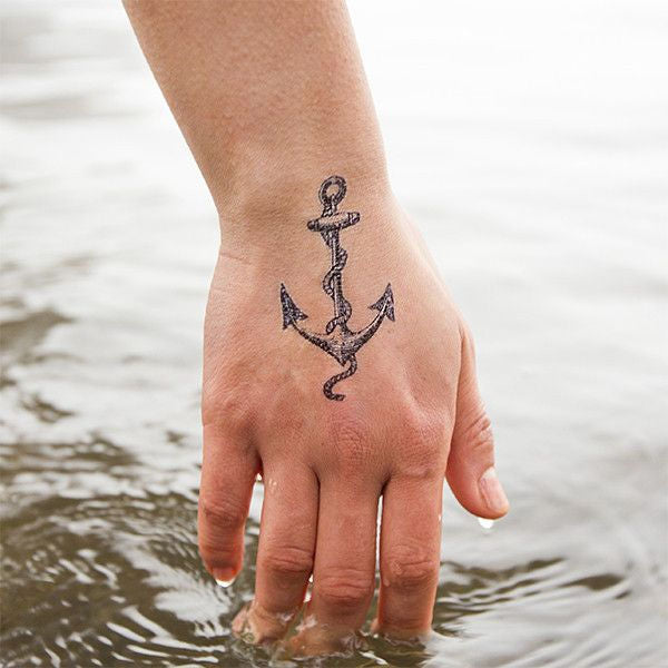 Picture of Tattly Cartolina Anchor Geçici Dövme