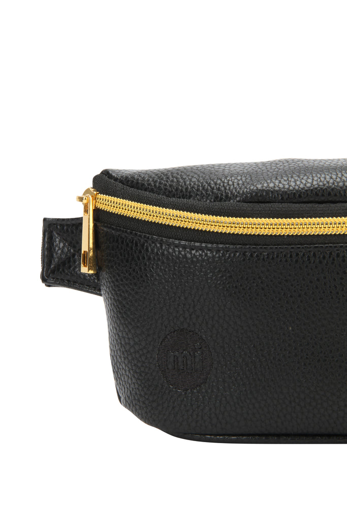 Mi-Pac Bum Bag Tumbled - Black Bel Çantası