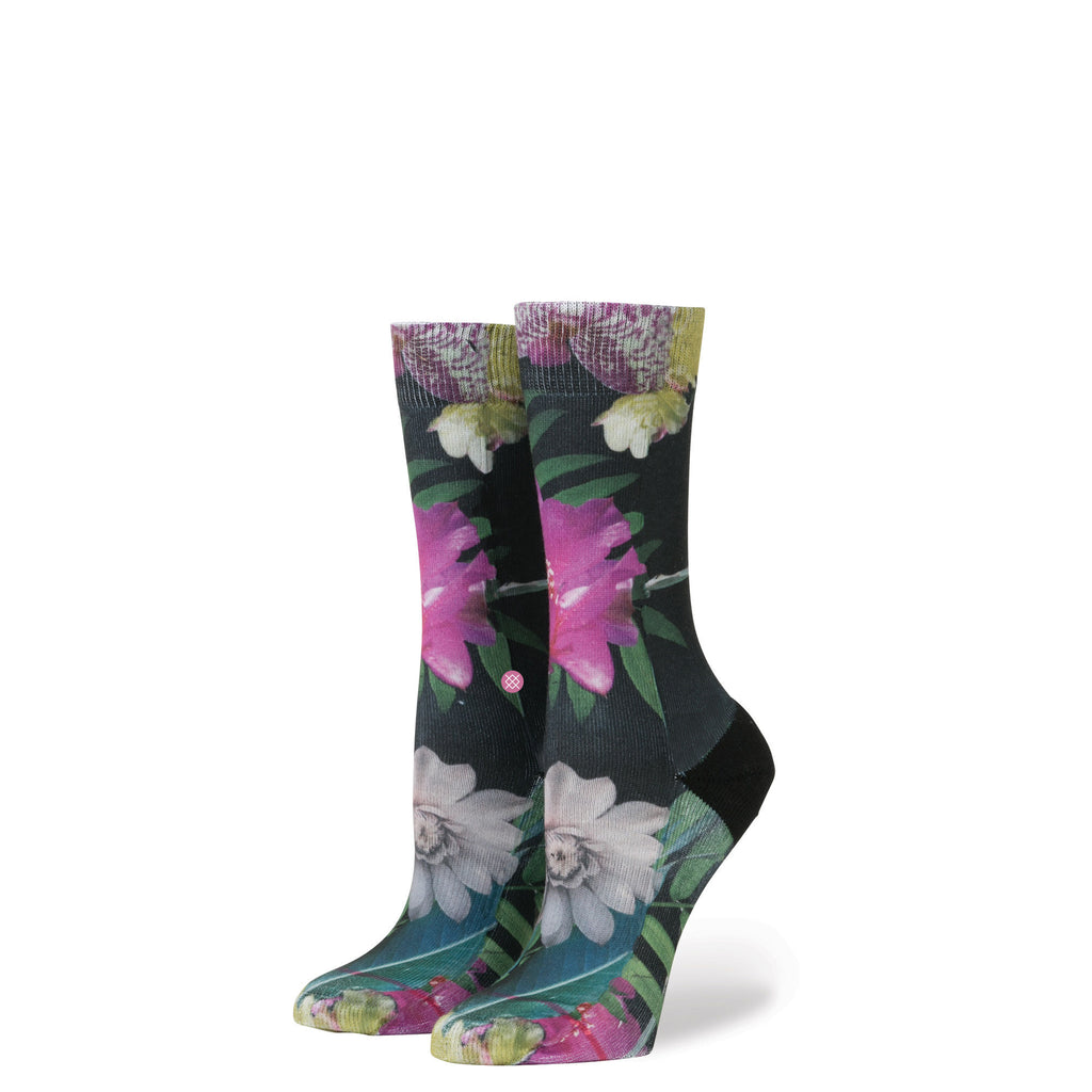 Stance BLUE Womens TROPIC FEVER S