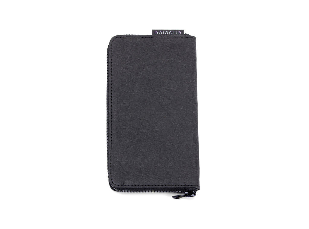 EPIDOTTE ZIPPED WALLET BLACK CÜZDAN