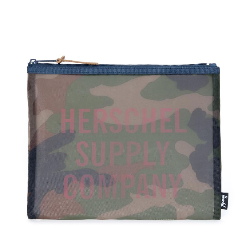Herschel Supply Network LargeMesh Woodland Camo