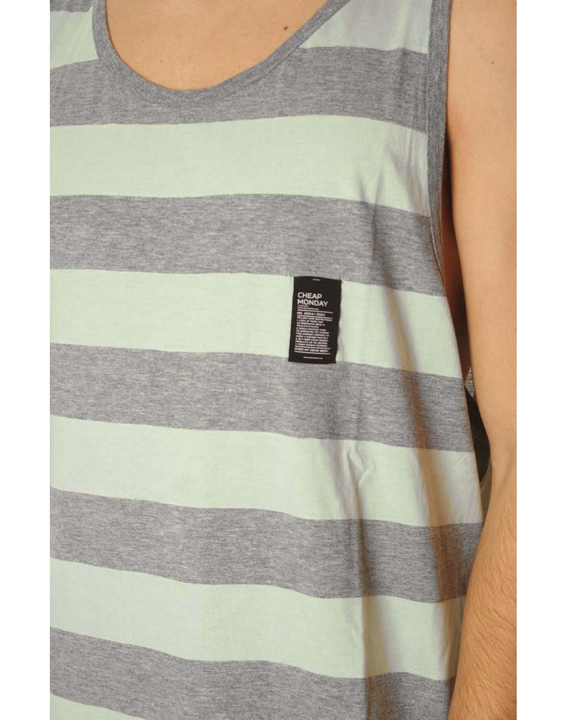 Cheap Monday Zeal tank Stripe T-Shirt