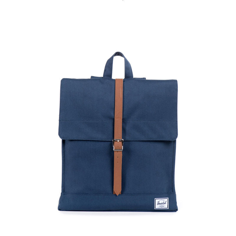 Herschel Supply City Navy/Tan Synthetic Leather