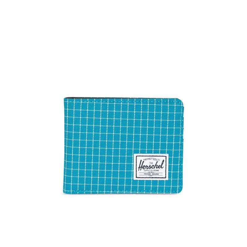 Herschel Supply Roy RFID Ocean Depths Grid