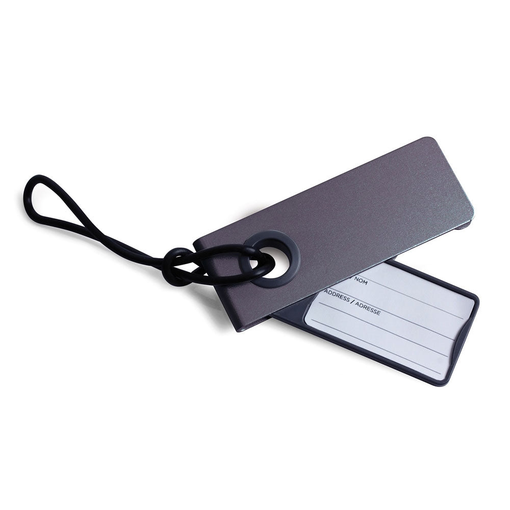 LEXON NEO LUGGAGE TAG METALİK GRİ