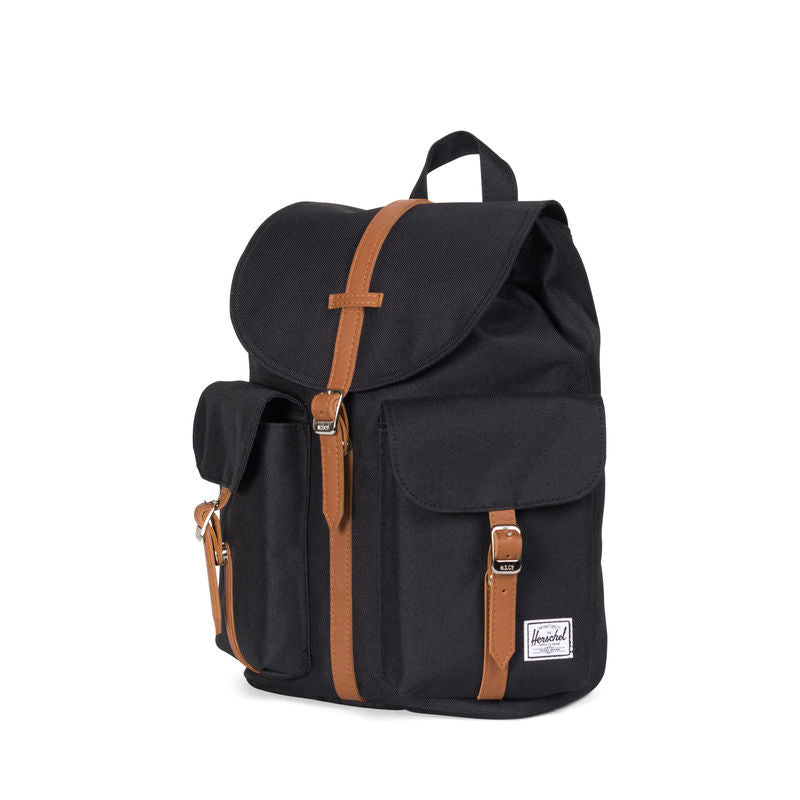 Herschel Supply Dawson Womens Black/Tan Synthetic Leather