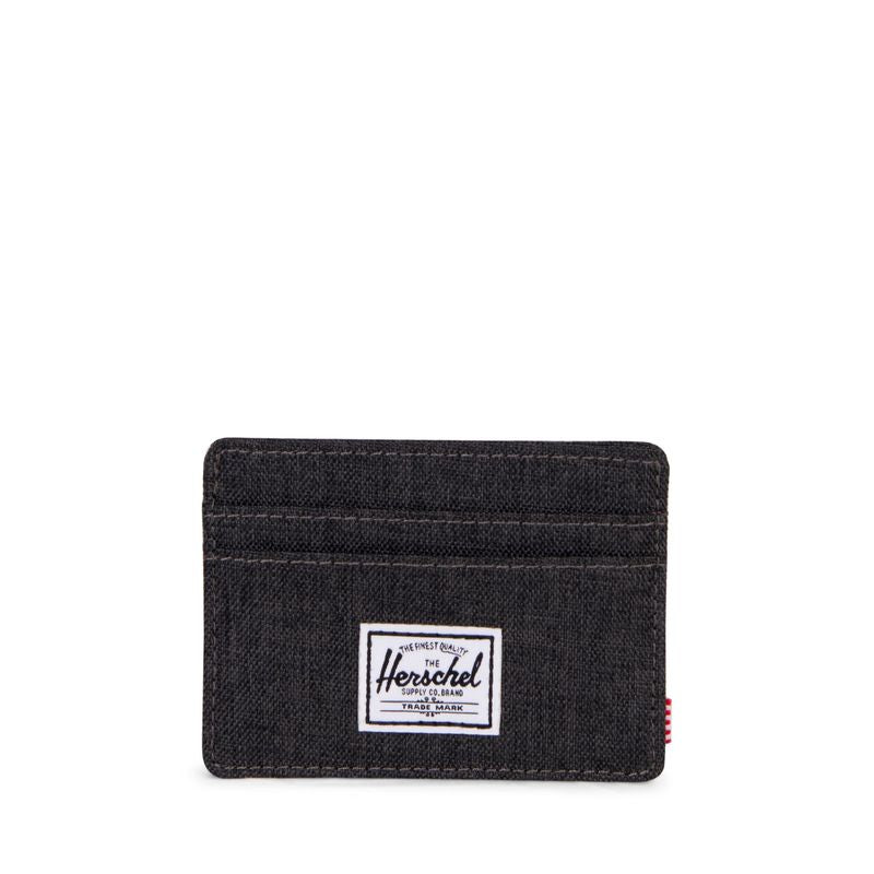 Herschel Supply Charlie RFID Black Crosshatch