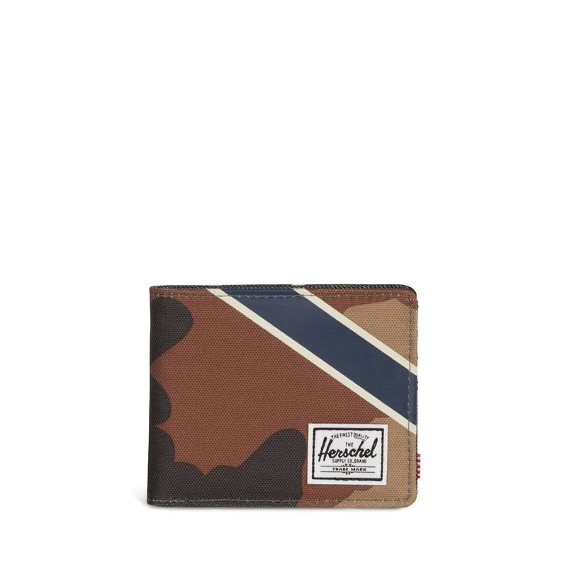 Herschel Supply Roy RFID Woodland Camo/Silver Green/Dark Denim