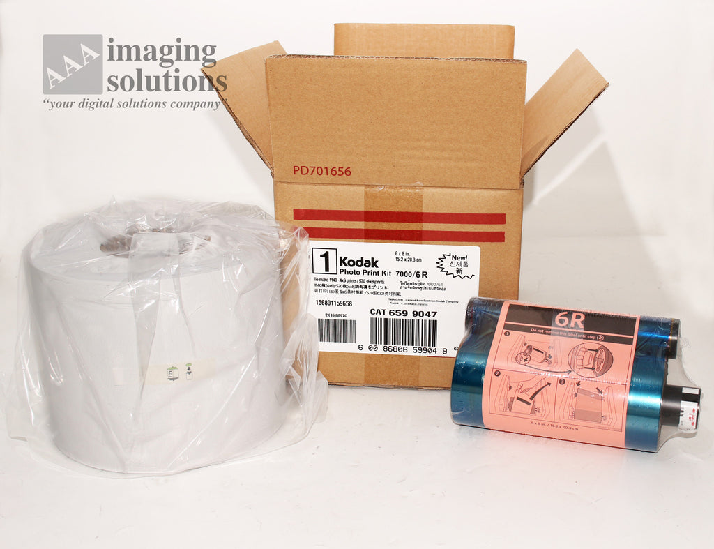 "Kodak 6R Printing Kit for Kodak 7000 CAT 659 9047 ""NEW"""