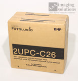 DNP Fotolusio 2UPC-C26 for UP-CR20L printer - media kit is 2 rolls/Ribbons