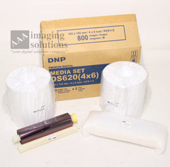"DNP DS620 (4""x6"") Media Set for Dye Sub printer DS620A 2 pack"
