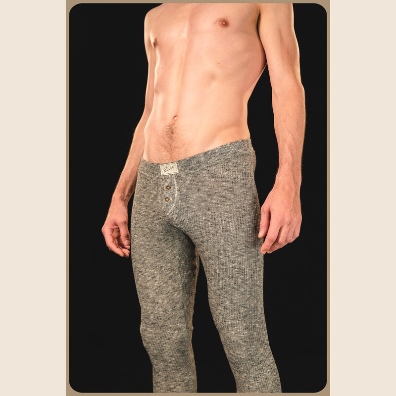 "Long johns 1882. Coton supérieur peigné 275g, édition  ""I can lick any sonafabitch in the house!"""