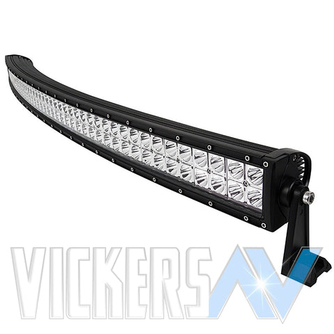 "LIGHT BARS - 54"" CURVED DUAL ROW"