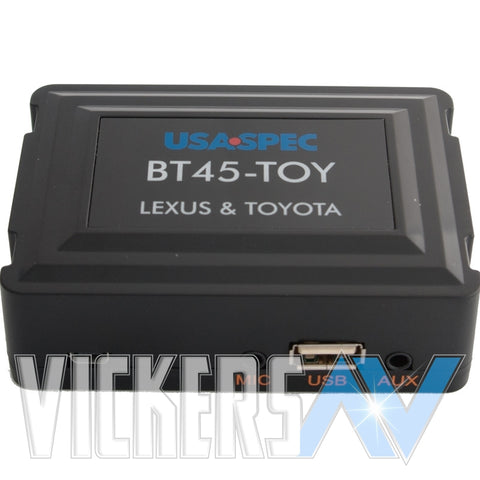 BT45-TOY  TOYOTA BLUETOOTH