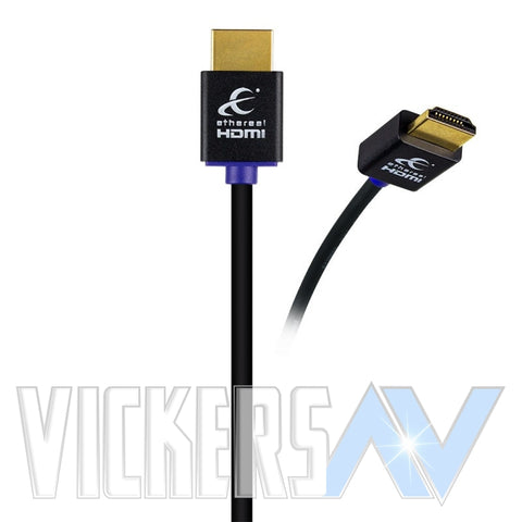HDMI CABLES - HIGH SPEED WITH ETHERNET - SUPER SLIM