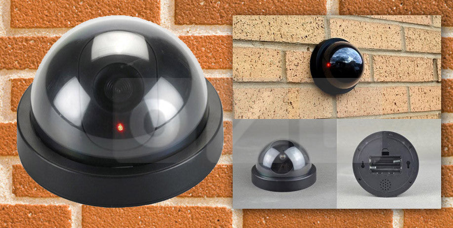 Dummy Security Camera Fake CCTV Palsu Mainan Replika Keamanan Safety - Pasarpas.com