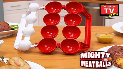 Mighty Meatball Cetakan Bakso Bakwan Roti Isi Daging Kitchen Mold 2in1 - Pasarpas.com