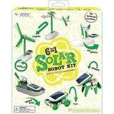 Solar Kit 6 In 1 Robot Educational Toys Mainan Edukasi Anak Kids Hobi - Pasarpas.com