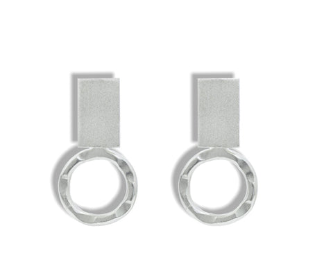 LOOP EARRING SILVER