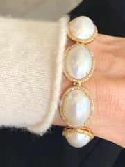 Pearl River 14K Yellow Gold Bracelet