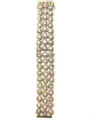 Rock 18K Yellow Gold Bracelet