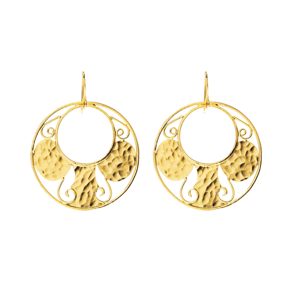 Antiquity Round Earring