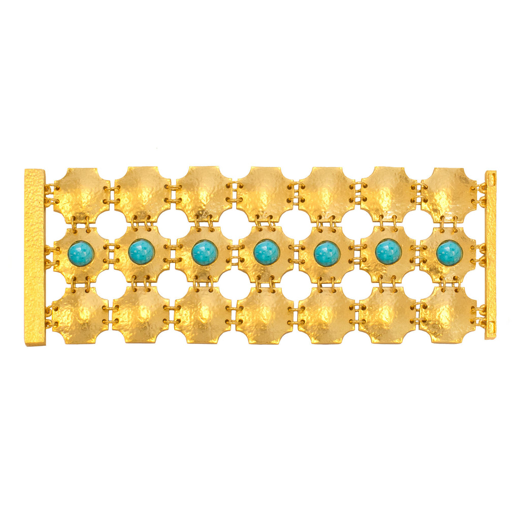 Russet Bracelet In Turquoise
