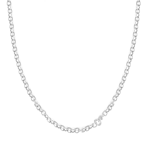Pebble Sterling Silver Necklace - 36 in.
