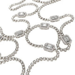 Icon 18K White Gold Necklace