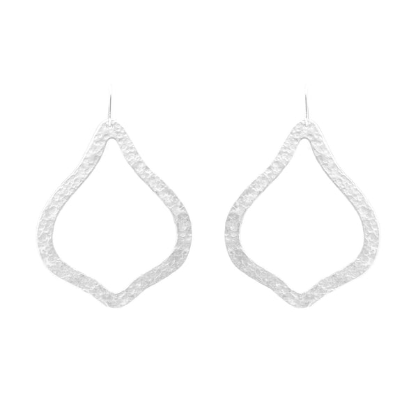 PARIS SINGLE ORNAMENT SILVER EARRING