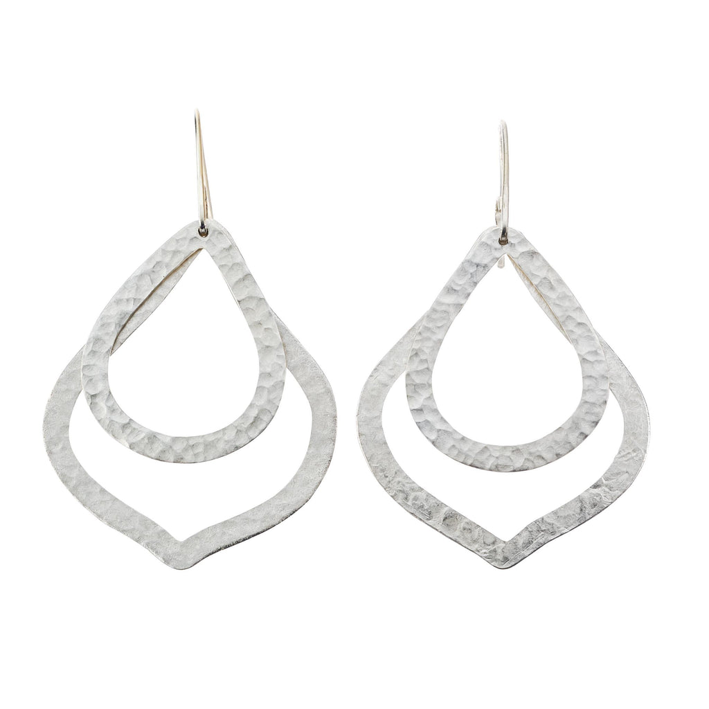 Paris Double O and DS In Silver Earrings