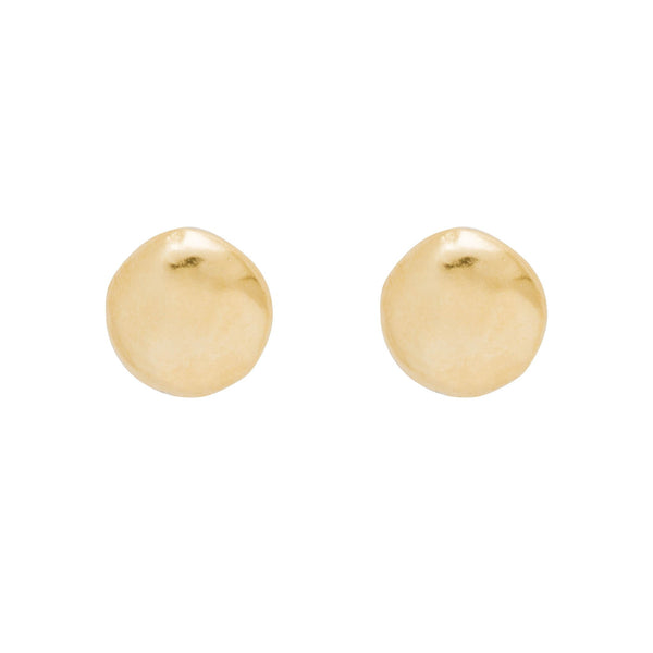 Rock Round Earrings