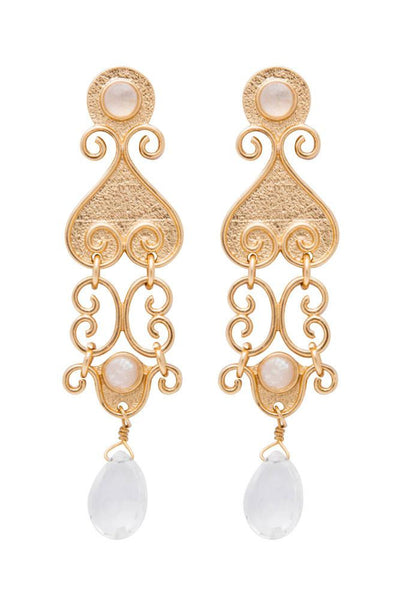 ANTIQUITY LONG EARRING