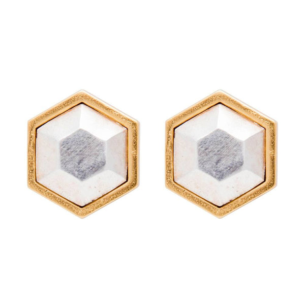 Hex Single Earring