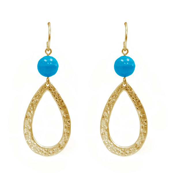 Drop Stone Earring
