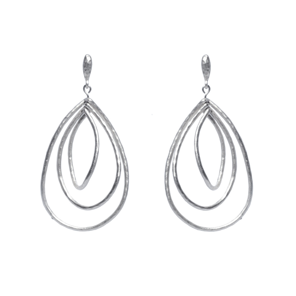 Paris Triple Drop Earring