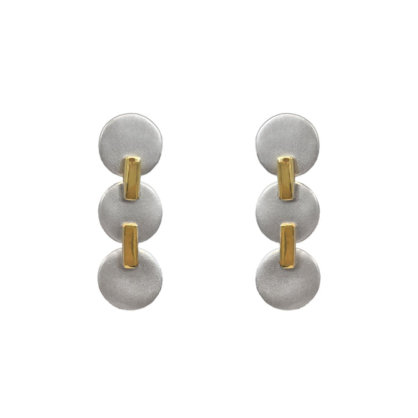Roll With It Trio Earring