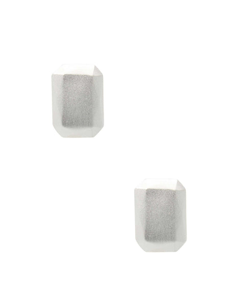 Chisel Rectangle Earring
