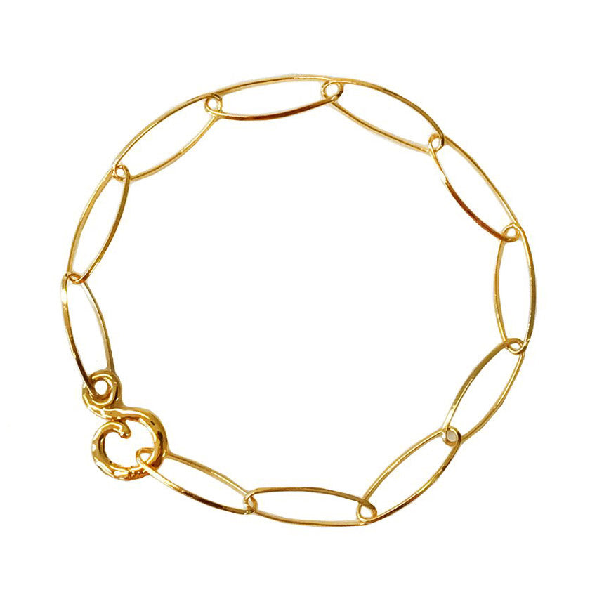Lace 18K Yellow Gold Bracelet