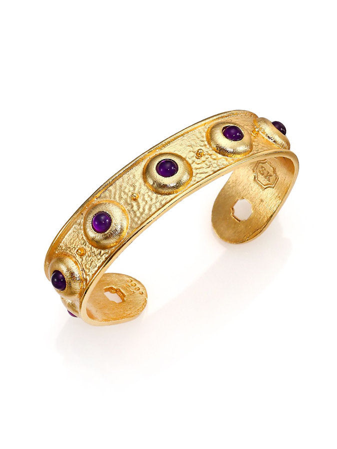 Balance Cuff In Light Amethyst