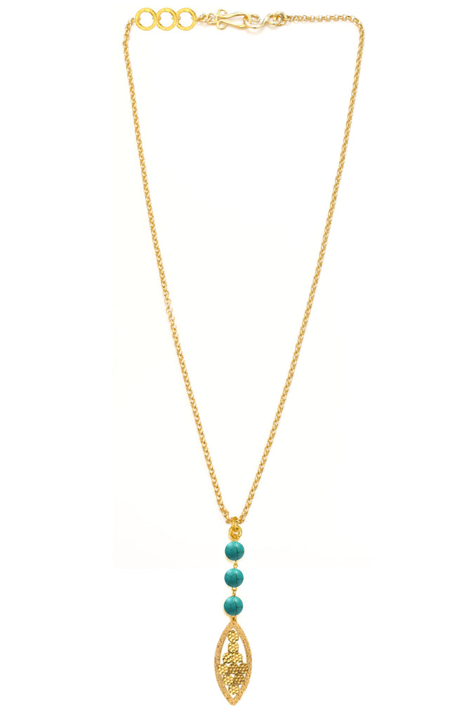 Empress Necklace In Turquoise
