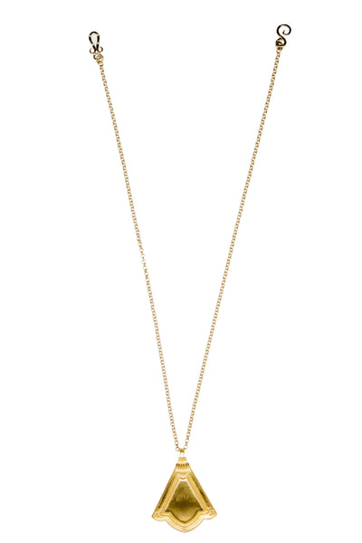 Background Necklace In Gold