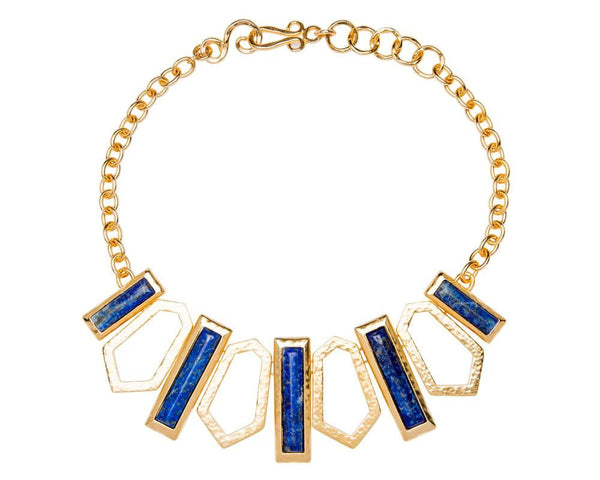 Angled Geometric Necklace