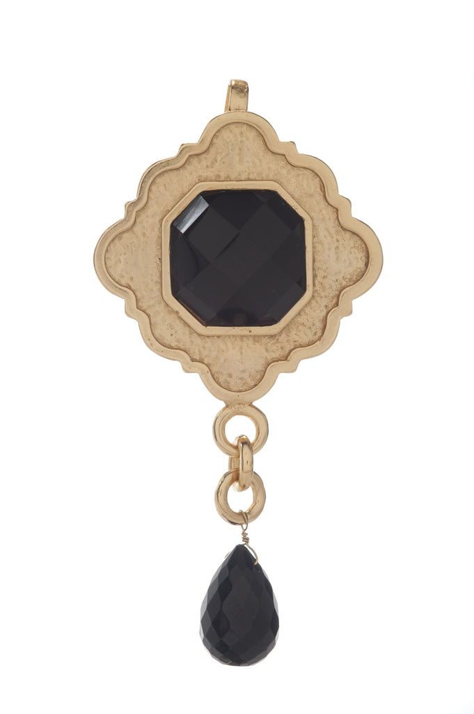 Ventana Pendant In Mother of Pearl and Mother of Pearl Briolet