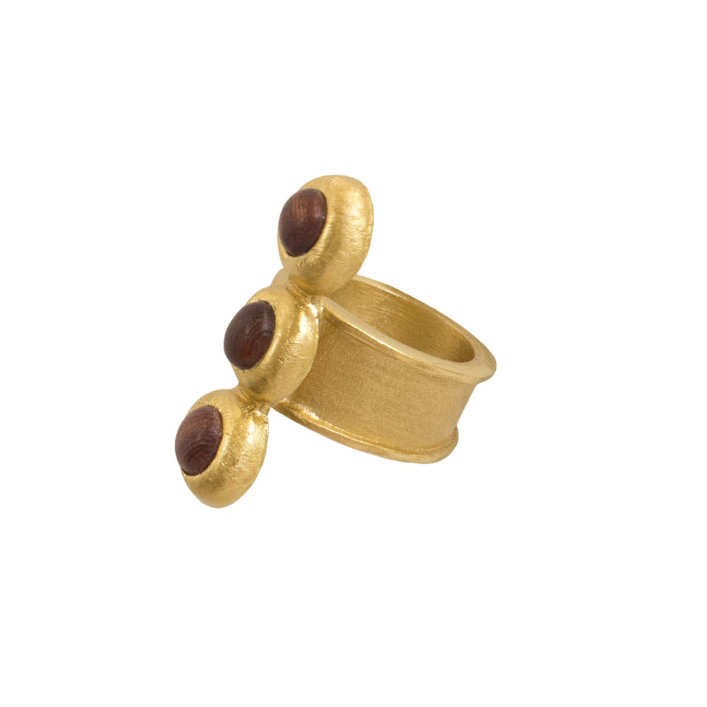 PEBBLE TRIPLE RING