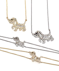 Miracle M Dog 18K Yellow Gold Necklace