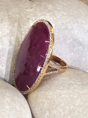 Love 18K Yellow Gold Ring
