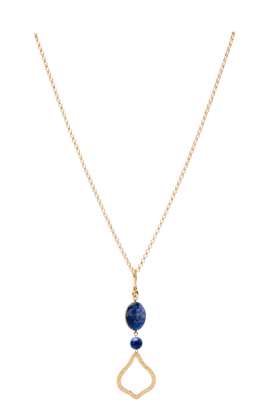 Joy in Sodalite Stone Necklace