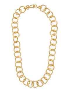 Gold Classic 18 in. Chain Necklace